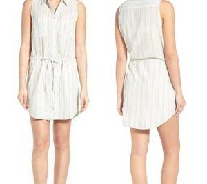 *Paige.* Yvonne cotton shirt dress L